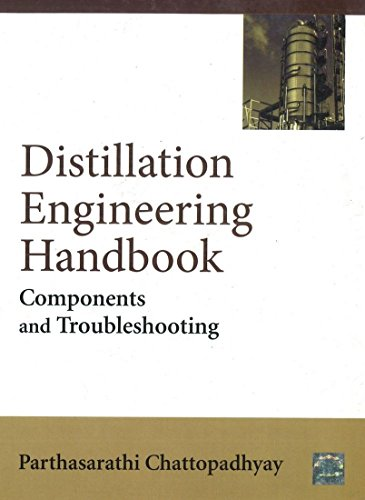 Distillation Engineering Handbook: Components and Troubleshooting: Parthasarathy Chattopadhyay