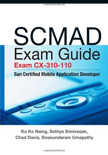 SCMAD Exam Guide - Exam cx-310-110: Sun: Naing, Ko Ko