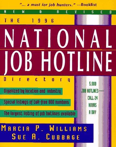 9780070706132: 1996 National Job Hotline Directory (Serial)