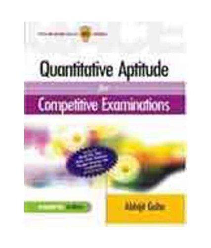9780070706361: Quantitative Aptitude For Mba