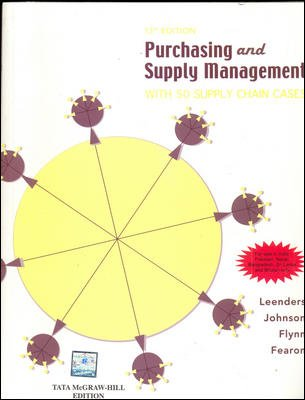 9780070706606: Purchasing & Supply Management