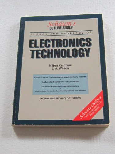 9780070706903: Electronics Technology: Including 240 Solved Problems (Schaum's Outlines)