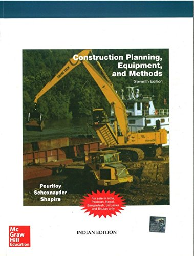 9780070706996: CONSTRUCTION PLANNING, EQUIPMENT AND METHODS