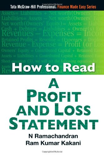 9780070707016: How to Read A Profit And Loss Statement