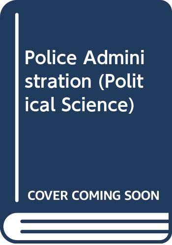 9780070707245: Police Administration