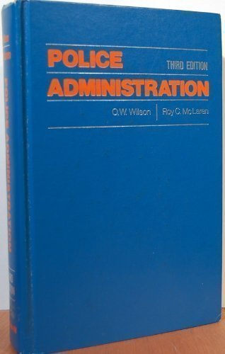 9780070707252: Police Administration