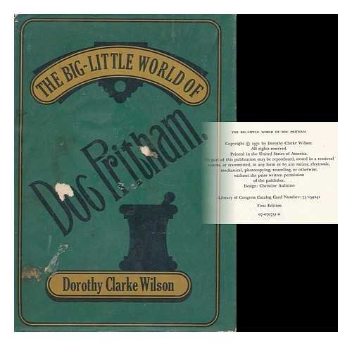 9780070707511: The Big-Little World Of Doc Pritham