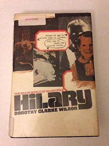 9780070707535: Hilary;: The brave world of Hilary Pole