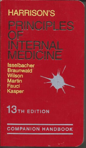 9780070709102: Harrison's Principles of Internal Medicine: Companion Handbook