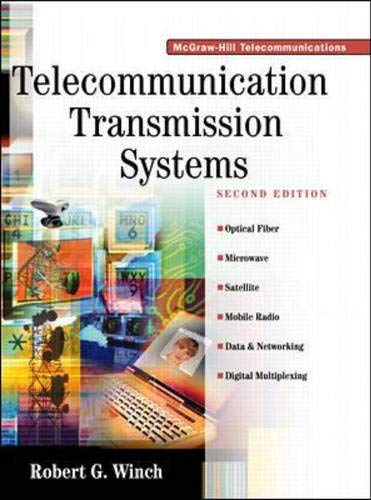 9780070709706: Telecommunications Transmission Systems, 2nd Edition