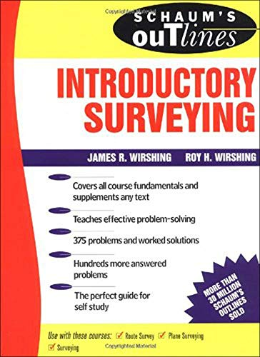 9780070711242: Schaum's Outline of Introductory Surveying (Schaum's)