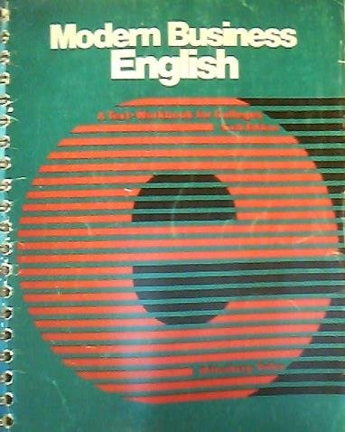 9780070711853: Modern Business English