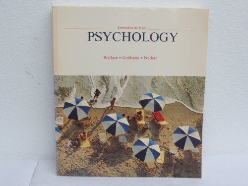 9780070712010: Psychology: An Introduction