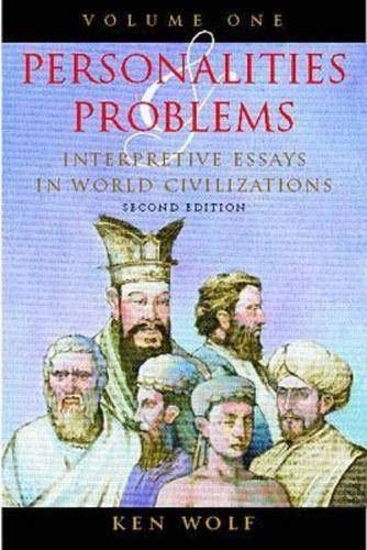 9780070713482: Personalities & Problems: Interpretive Essays in World Civilization, Volume I