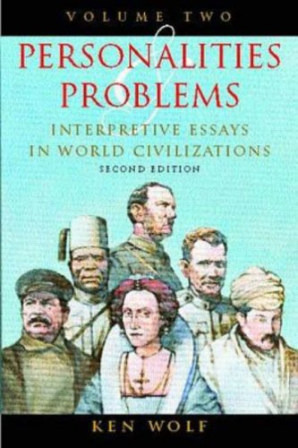9780070713499: Personalities & Problems: Interpretive Essays in World Civilization, Vol II: Interpretive Essays in World Civilizations: v. 2