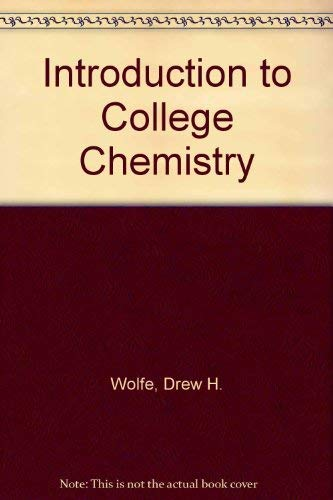 9780070714106: Introduction to college chemistry