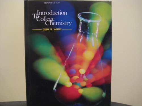 9780070714274: Introduction to College Chemistry 2nd Edition