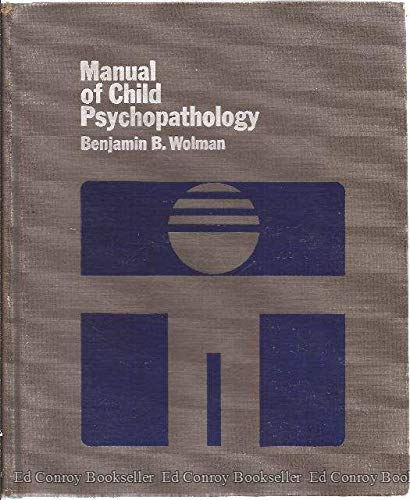 9780070715455: Manual of Child Psychopathology