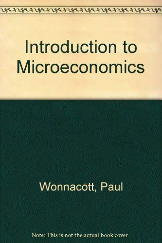 9780070715639: An introduction to microeconomics