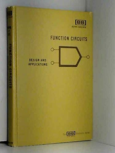 9780070715707: Function Circuits: Design and Applications (The BB electronics series)