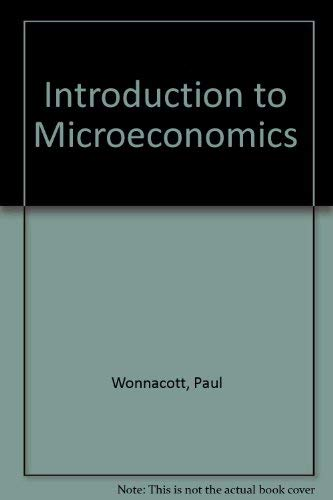 9780070715837: Introduction to Microeconomics