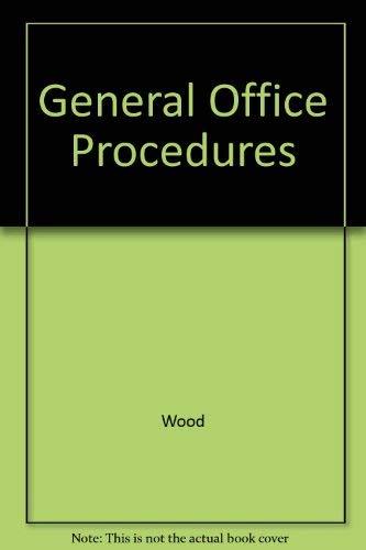 9780070715936: General Office Procedures: College Series