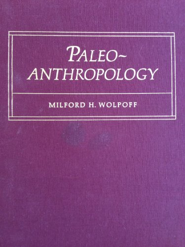 9780070716766: Paleoanthropology