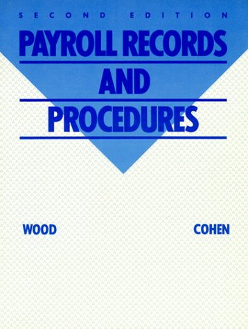 9780070716865: Payroll Records and Procedures