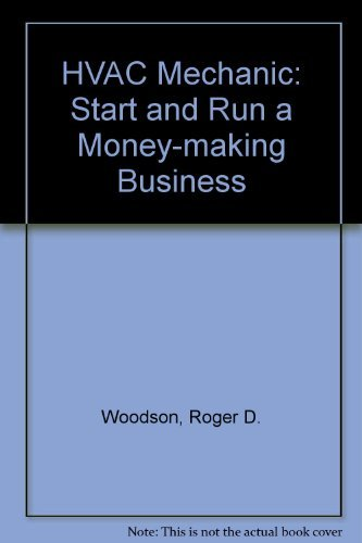 9780070717763: Hvac Mechanic: Start and Run a Money-Making Business