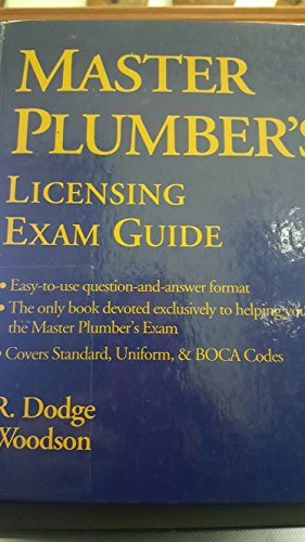 9780070717855: Master Plumber's Licensing Exam Guide