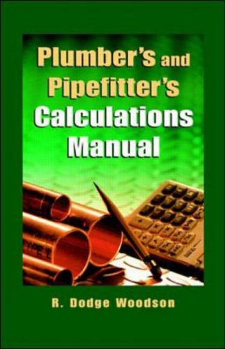 9780070718579: Plumber's and Pipefitters Calculations Manual