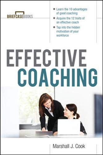 9780070718647: Effective Coaching (Briefcase Books Series)