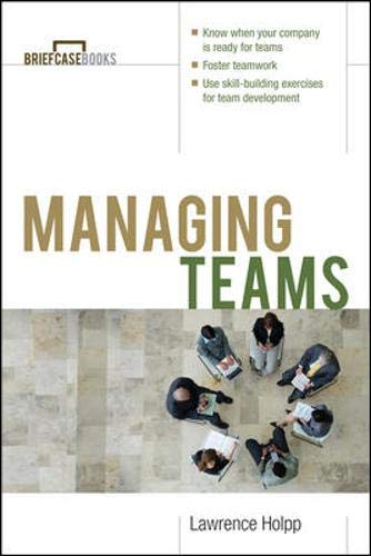 9780070718654: Managing Teams