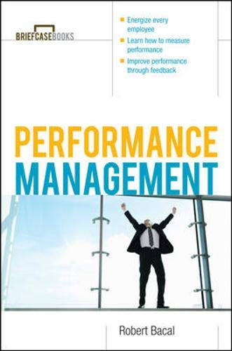 9780070718661: Performance Management (Briefcase Books Series)