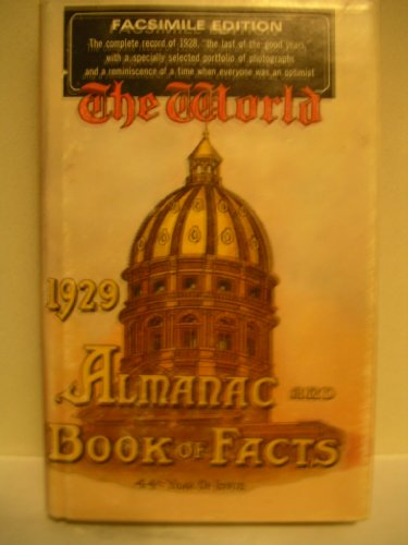 9780070718814: The 1929 world almanac and book of facts