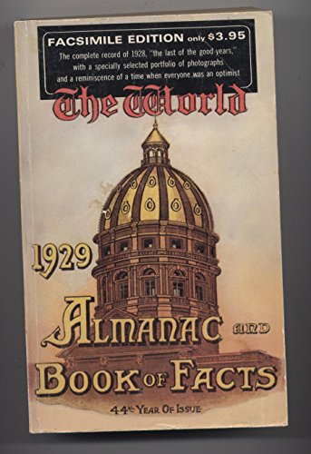 9780070718821: The 1929 world almanac and book of facts