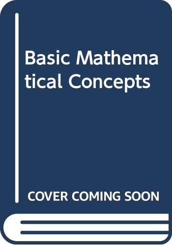 9780070719057: Basic Mathematical Concepts