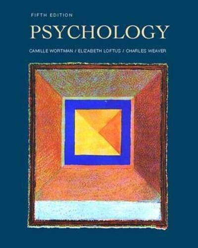 9780070719316: Psychology