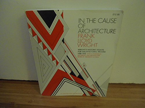 9780070720312: In the Cause of Architecture