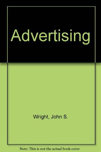 9780070720657: Advertising