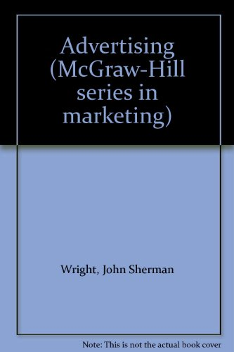 9780070720671: Advertising (McGraw-Hill series in marketing)