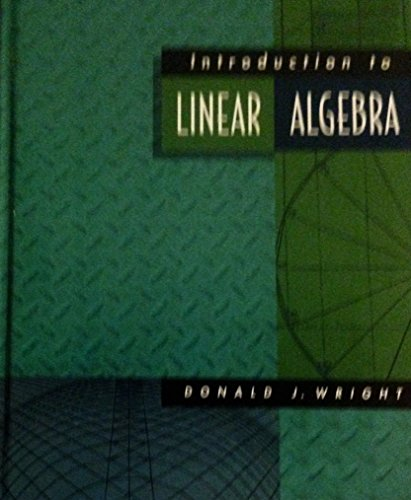 9780070720985: Introduction to Linear Algebra