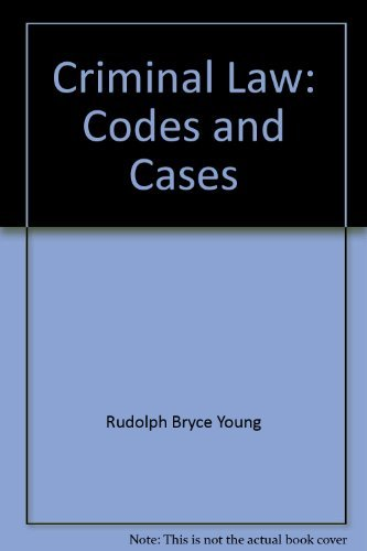9780070723405: Criminal law: codes and cases