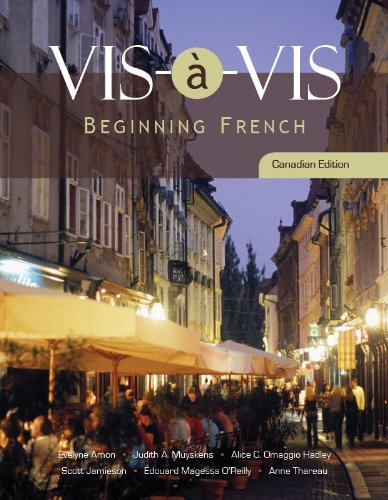 Vis-a-vis: Beginning French: Amon, Evelyne