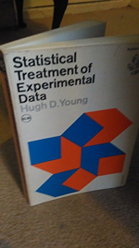 Statistical Treatment of Experimental Data (0070726469) by Young, Hugh D.