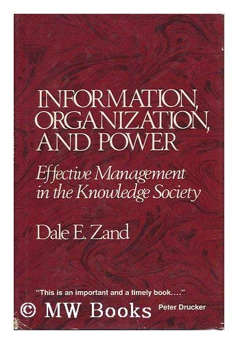 9780070727434: Information, Organization, and Power: Effective Management in the Knowledge Society
