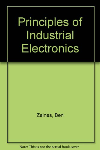 9780070727731: Principles Of Industrial Electronics