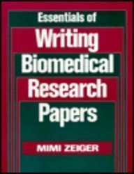 9780070728332: Essentials of Writing Biomedical Research Papers