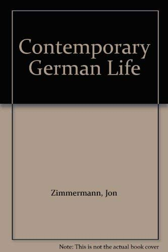 9780070728356: Contemporary German Life (German and English Edition)