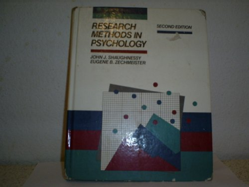 9780070728592: Research Methods in Psychology